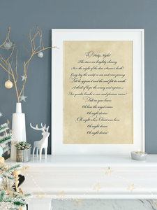 Oh Holy Night Print | Printable