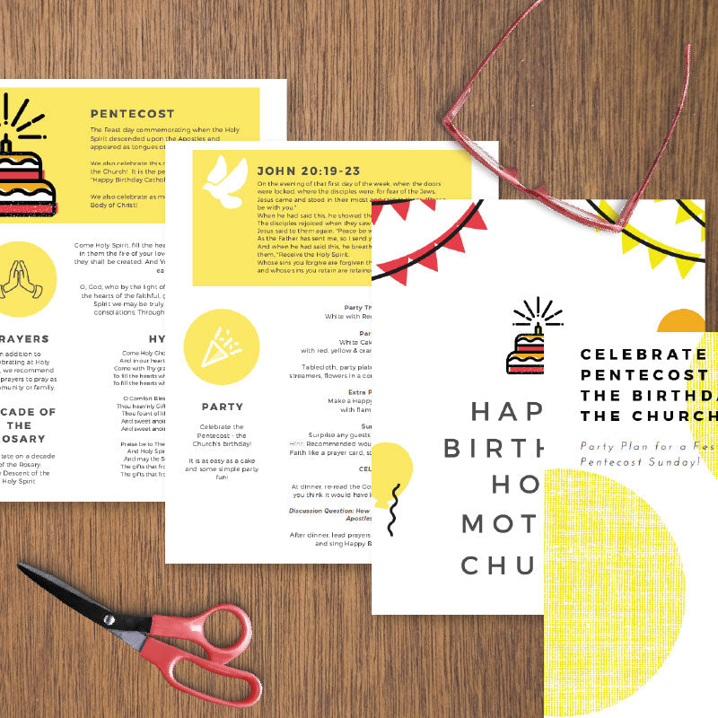 Pentecost Party Plan | Printable