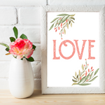 Love - Valentine Printable