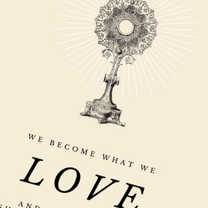 We Become Who We Love Quote | Printable