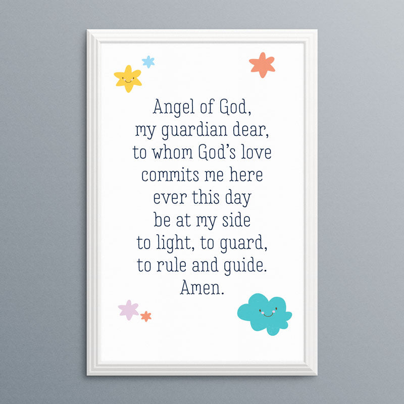 Angel of God Prayer | Printable