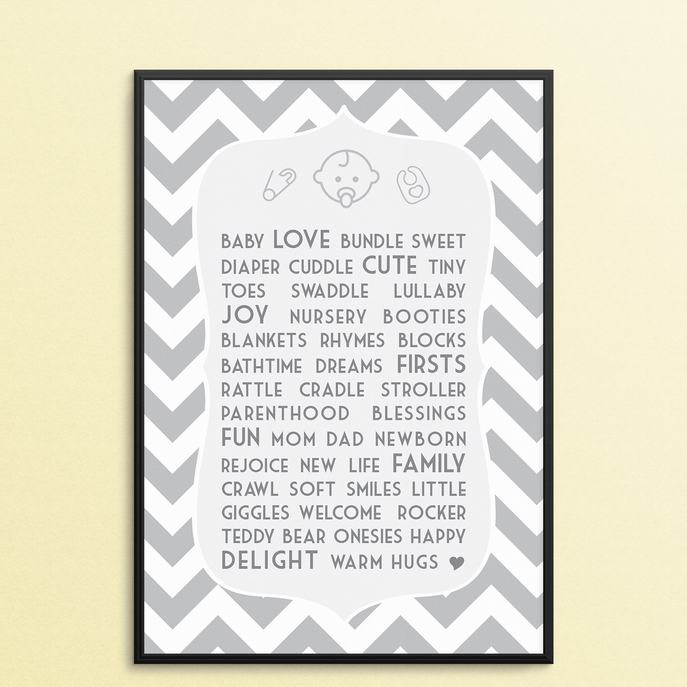 Baby Shower Poster