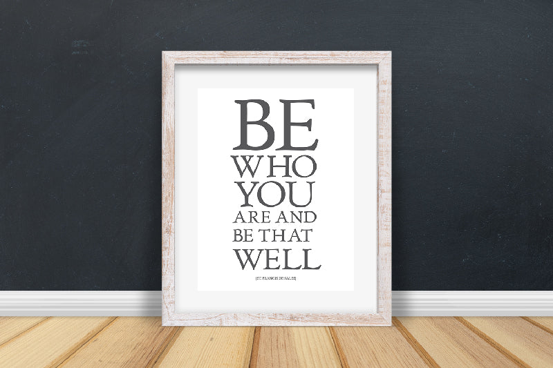 Be Who You Are Quote | Printable