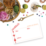 Cocktail Recipe Card