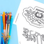 Holy Eucharist Coloring Pages | Printable