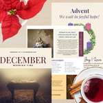 December Morning Time Printable