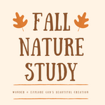 September Nature Study Menu | Homeschool Printable