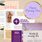March Morning Time Printable