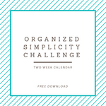 Organized Simplicity Challenge - Free Download