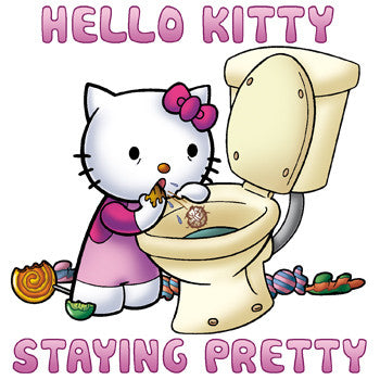 Hello Kitty Staying Pretty