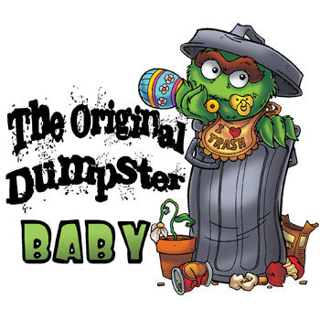 Oscar the Grouch: Original Dumpster Baby