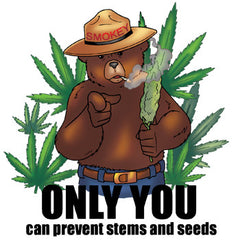 Smokey the Bear Weed Smoker