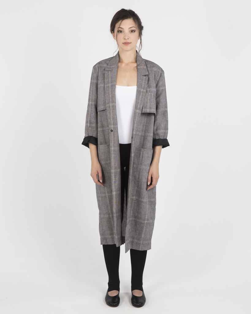Tailored Shoulder Trench Coat