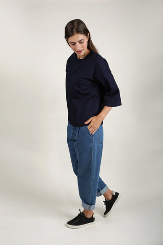 Gallery Top - Navy