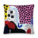 Spotty Dotty Premium Pillow by Shelbi Nicole