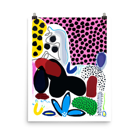Spotty Dotty Print by Shelbi Nicole