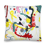 Dunn Dunn Premium Pillow by Shelbi Nicole