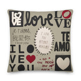 #iLoveYouWall Premium Pillow by Shelbi Nicole