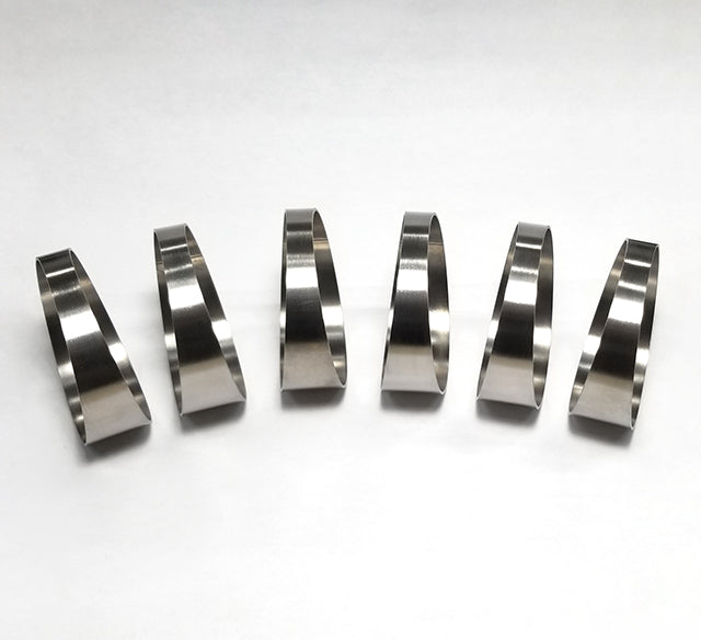 "1.75"" Pie Cut 7.5° 1mm/.039"" 1.5D Loose Radius - 6 pack (90° Total)"