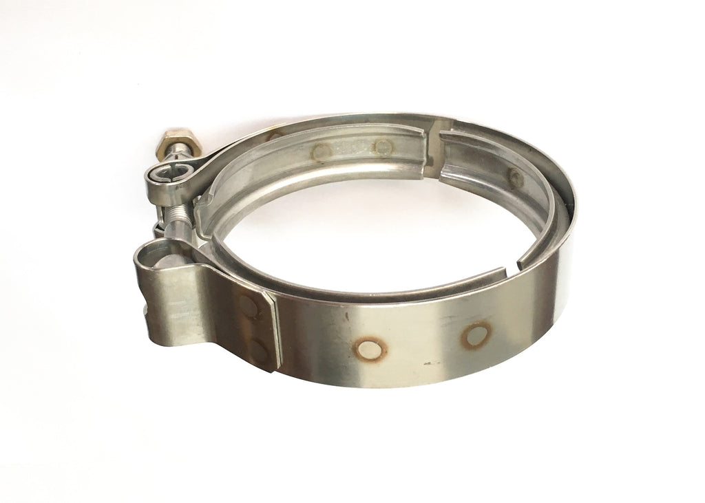 Quot stainless steel v band clamp ticon industries
