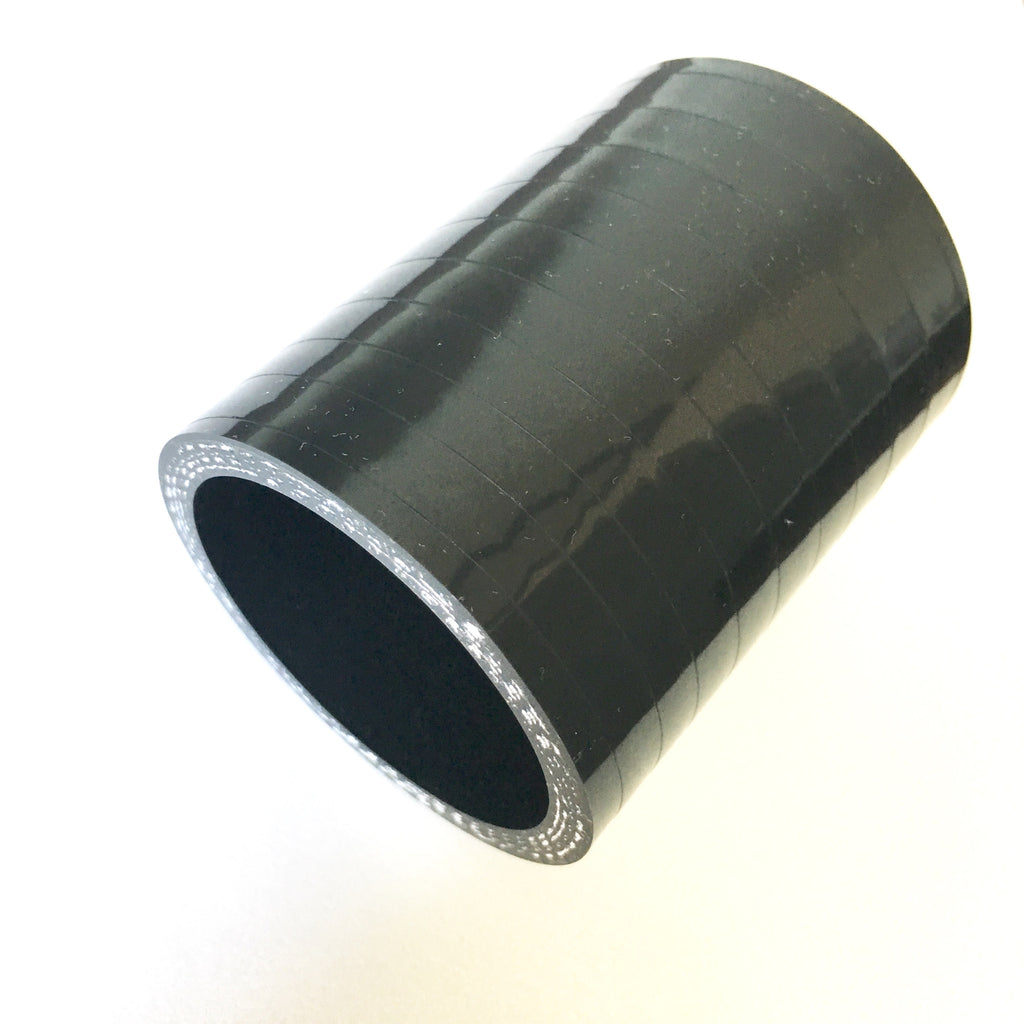 "2"" High Temp 4-Ply Reinforced Straight Silicone Coupler"