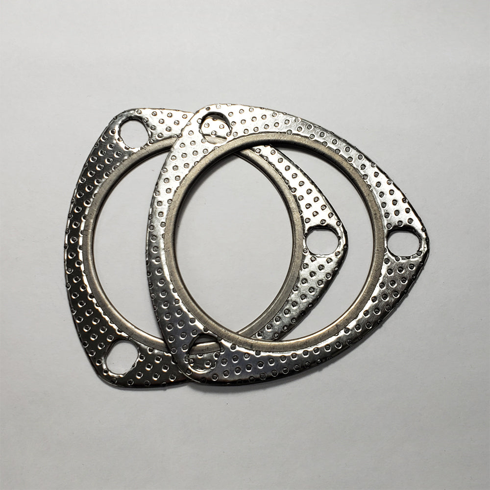 "3 Bolt MLSG High Temp Exhaust Gasket (3"" I.D.) 2 Pack"