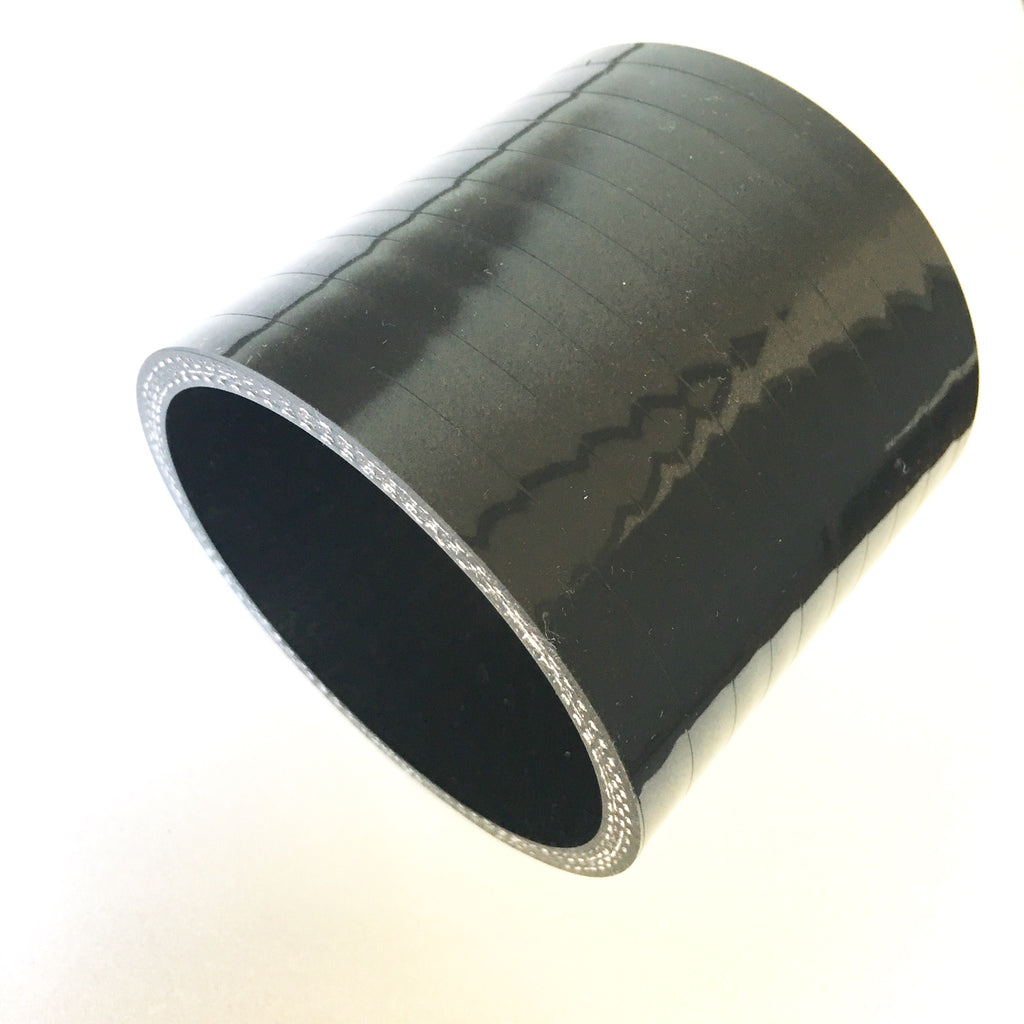 "3"" High Temp 4-Ply Reinforced Straight Silicone Coupler"