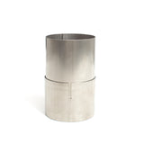 3.5″ Titanium Slip Joint Connector – 1mm/.039″ Wall