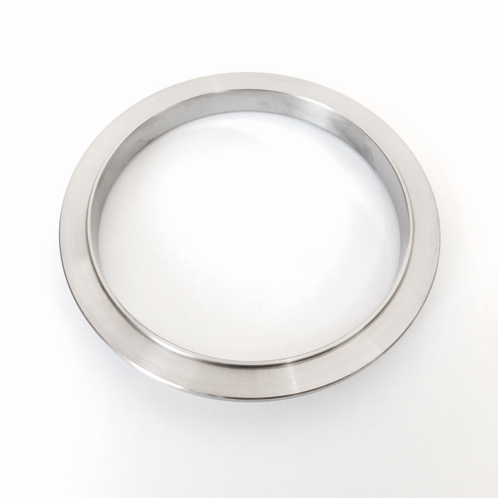 "3.5"" Titanium V-Band Flange (Male)"