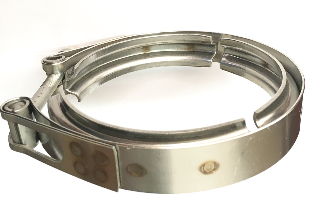 "3.5"" Stainless Steel V-Band Clamp – Ticon Industries"