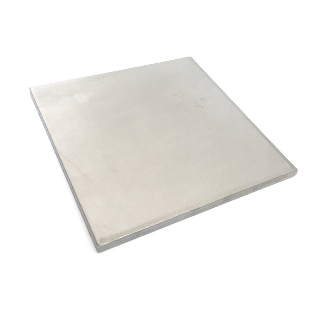 "6.1""x6.1"" Titanium Plate – 8mm/.315″ Thickness"