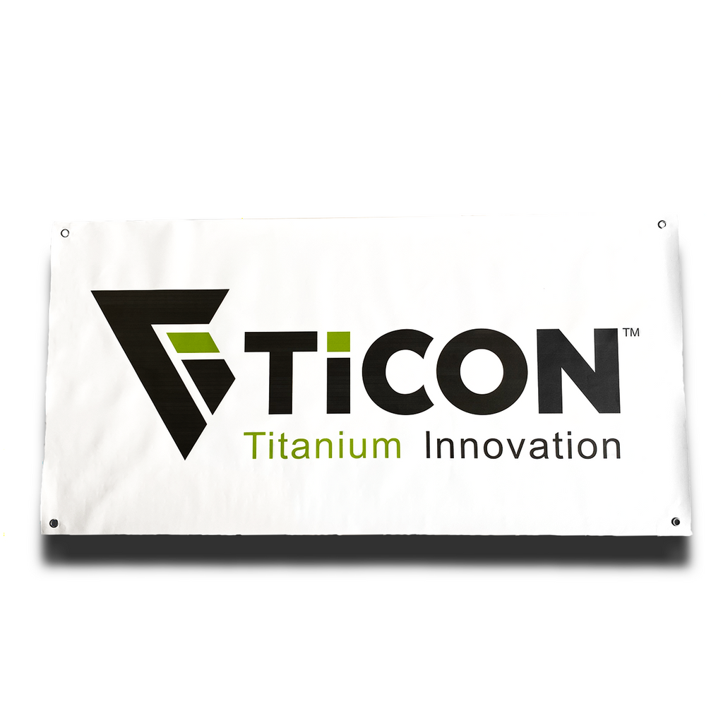 "Ticon Industries 24"" x 48"" Banner"