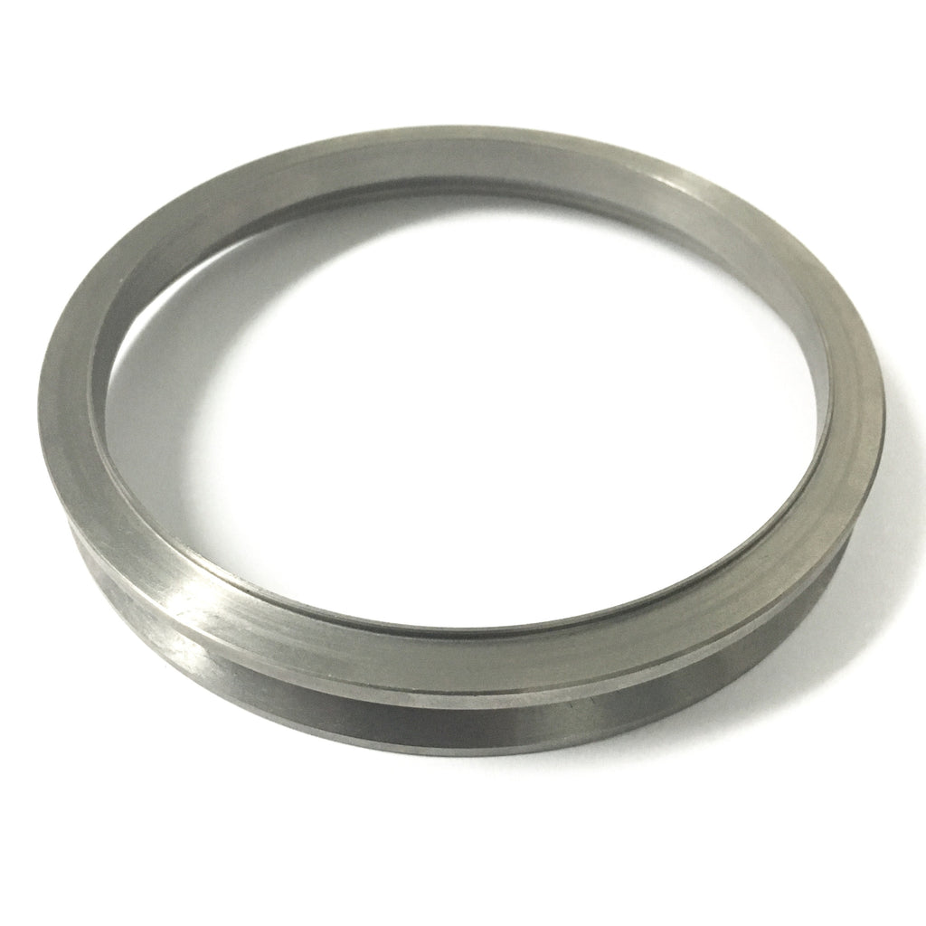 "Precision Turbo Large Frame 5.25"" Titanium Turbine Outlet Flange (Fits PT91 thru PT118)"