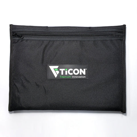 Ticon Industries Padded Ballistic Nylon Bag w/ Zipper