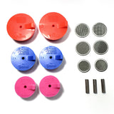 Silicone Purge Plugs (Turbo Manifold Kit) - Tig Aesthetics by Ticon