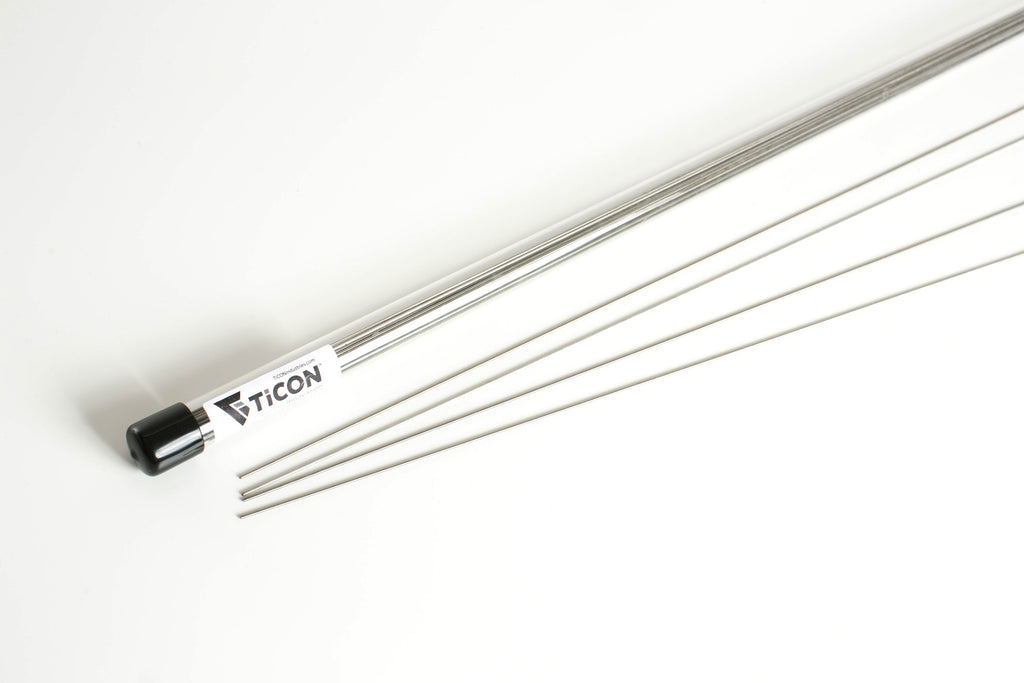 "1.5mm(.059″) Titanium Welding Filler Rod 1/4Lb 39"" Length"