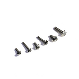 M10 Flanged 6 Point Hex Titanium Bolt - 6Al4V / GR5