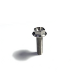 M6 Flanged 6 Point Hex Titanium Bolt - 6Al4V / GR5