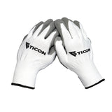 Fabrication Basics Nitrile Coated Nylon Gloves - 10 Pack
