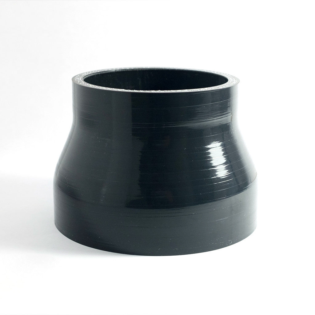 "3"" to 4"" High Temp 4-Ply Reinforced Straight Silicone Reducer"