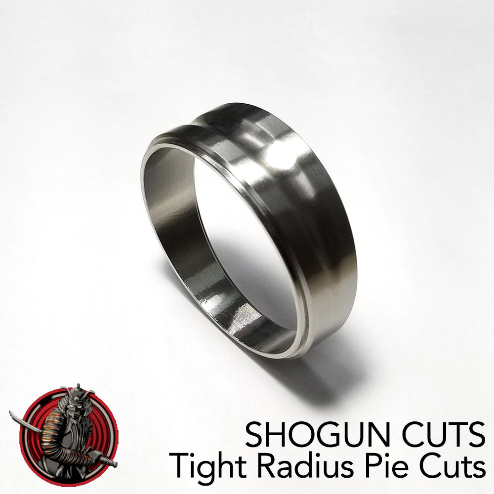 Shogun Cuts - Tight Radius Pie Cuts 4.5°/4.5° (9° Total)