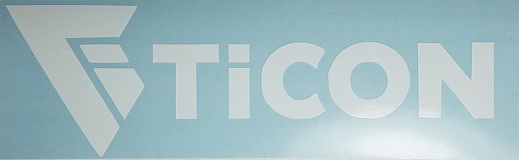 Ticon Sticker Decal (Small)