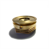 Copper Chill Blocks For Universal V-Band Flanges - Tig Aesthetics by Ticon