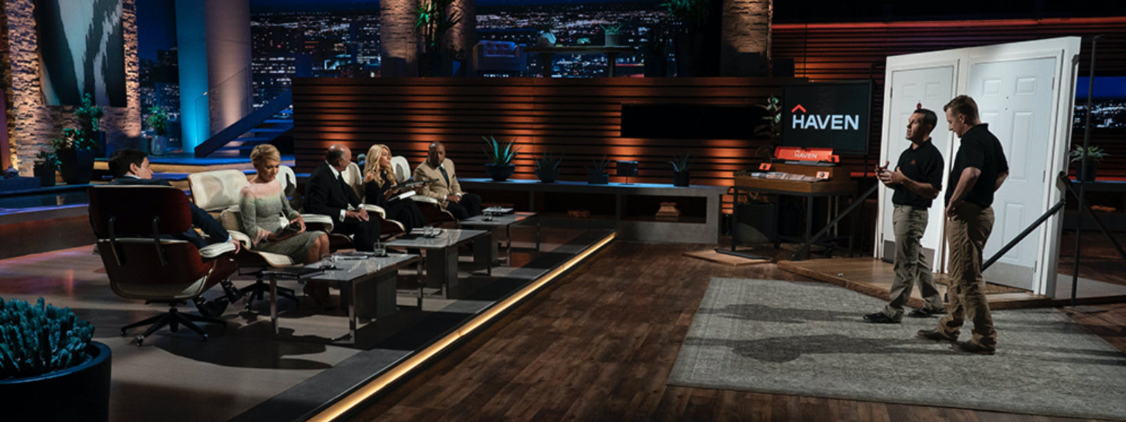 HAVEN Lock on Shark Tank Header Image