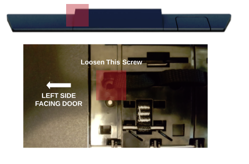Loosen Screws on HAVEN Connect to troubleshoot locking issues