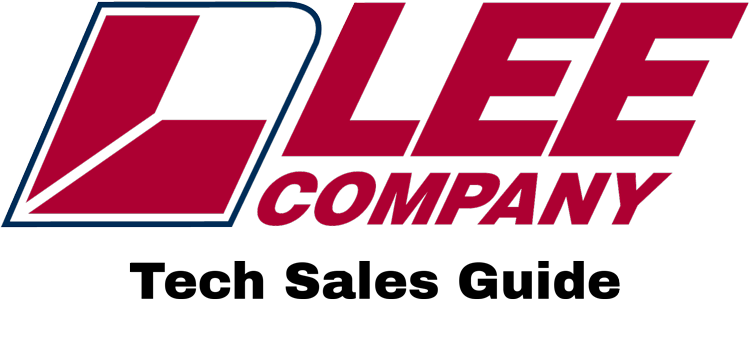Lee Company Tech Sales Guide