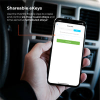 Use the HAVEN mobile app to create and control guest eKeys and time sensitive scheduled keys