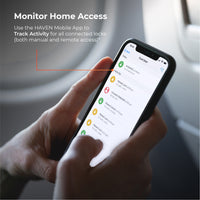 Use the HAVEN Mobile App to track activity for all connected locks