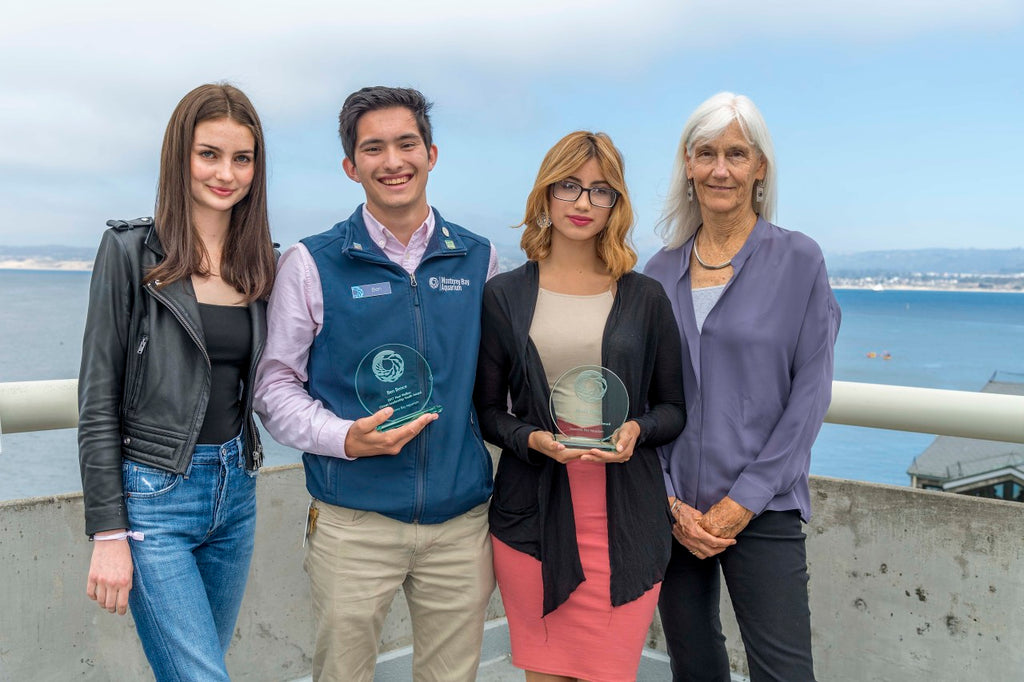 Young Wavemakers: Youth Leadership in Ocean Conservation via Monterey Bay Aquarium