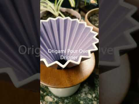 Origami Dripper with base